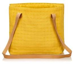 Hermes Pre-owned: Ahmedabad Shoulder Bag. - YELLOW X BROWN - STYLE