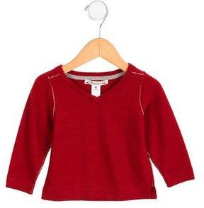 Bonpoint Boys' Wool Long Sleeve Sweater