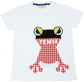 Frog Printed Cotton Jersey T-Shirt
