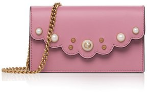 Gucci Peony Leather Crossbody Bag - ONE COLOR - STYLE