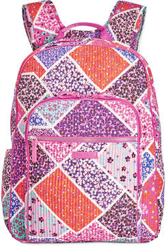 Vera Bradley Iconic Deluxe Campus Small Backpack - FALLING FLOWERS - STYLE