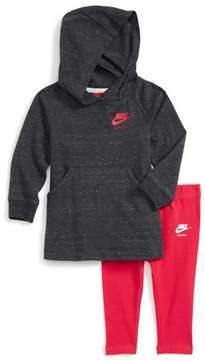 Nike Infant Girl's Hoodie & Leggings Set