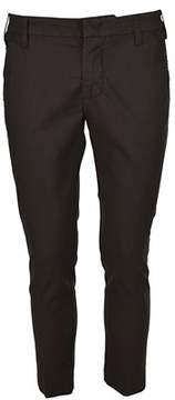 Entre Amis Men's Brown Cotton Pants.