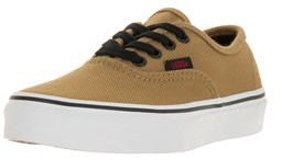Vans Kids Authentic (twill & Gingham) Skate Shoe.