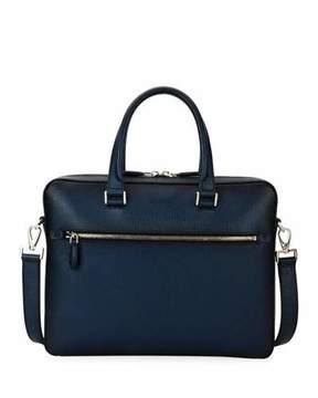 Salvatore Ferragamo Revival Leather Laptop Briefcase