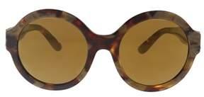 Dolce & Gabbana Dg4331 31706h Havana Pear Round Sunglasses.