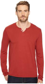Joe's Jeans Wintz Long Sleeve Henley Men's Long Sleeve Pullover