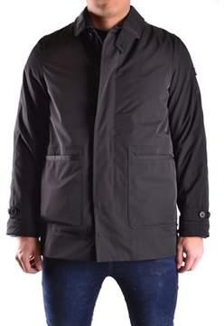 Peuterey Men's Black Polyamide Outerwear Jacket.