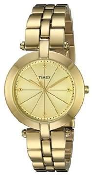Timex Gold-Tone Ladies Watch TW2P79200