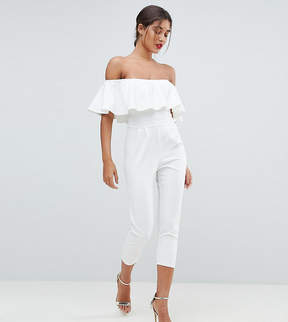 Bardot Outrageous Fortune Tailored Jumpsuit with Tapered Leg