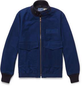 Blue Blue Japan Cotton Bomber Jacket