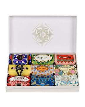 Claus Porto Deco Gift Box - Mini Soaps, 9 x 50g