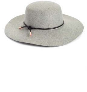 Ted Baker Women's Rope Trim Wool Felt Hat - Grey