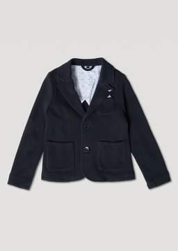 Armani Junior Textured Fabric Jacket
