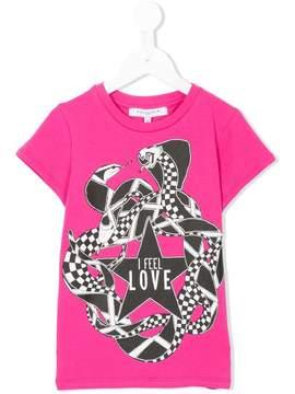 Givenchy Kids I feel love print T-shirt