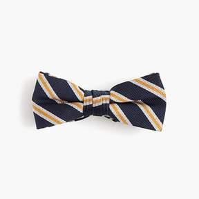 J.Crew Boys' silk bow tie in stripe