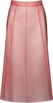 Burberry Translucent Plastic Skirt