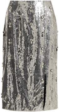 Erdem Tahira sequin-embellished skirt