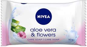 Nivea Aloe Vera + Flower Bar Soap by 90g Bars Of Soap)