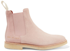 Common Projects Suede Chelsea Boots - Blush