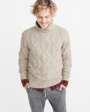 Abercrombie & Fitch Airspun Turtleneck Sweater