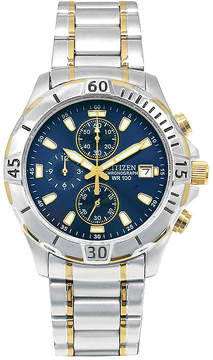 Citizen Men's Chronograph Two Tone Stainless Steel Bracelet Watch 41mm AN3394-59L