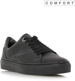 Dune London ELLIZER - BLACK Comfort Lace Up Chunky Sole Sneaker