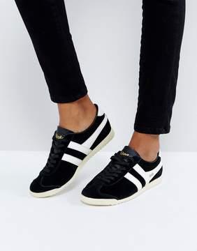Gola Bullet Suede Sneakers In Black