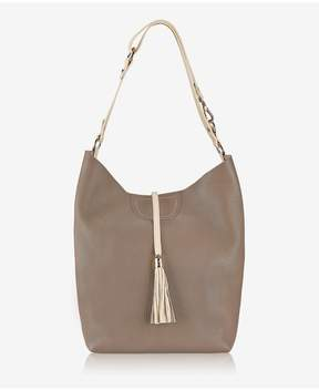 GiGi New York | Colette Hobo In Taupe French Goatskin | Taupe french goatskin