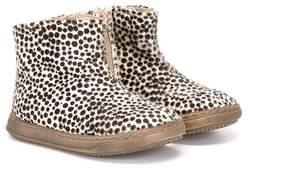 Pépé animal print boots
