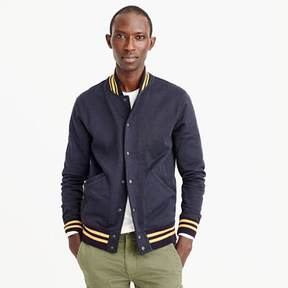 J.Crew Wallace & Barnes cotton varsity jacket