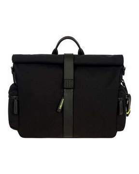 Bric's Moleskine by Roll-Top Messenger Bag Luggage