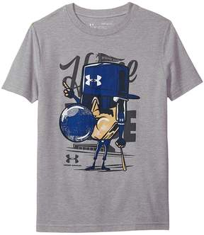 Under Armour Kids Home Plate Short Sleeve Tee Boy's T Shirt