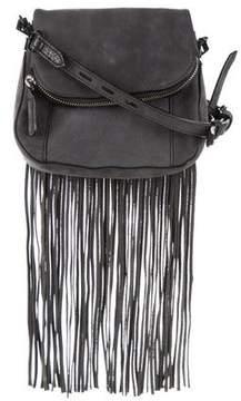 Rebecca Minkoff Nubuck Crossbody Bag - GREY - STYLE