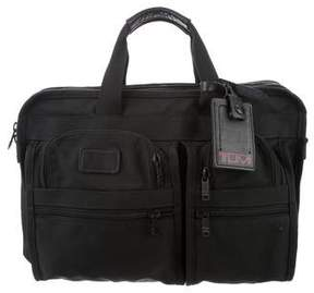 Tumi Leather-Trimmed Nylon Bag