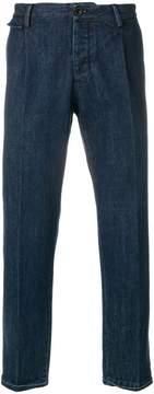 Pt01 pressed straight leg jeans