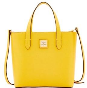 Dooney & Bourke Saffiano Mini Waverly Top Handle Bag - DANDELION - STYLE