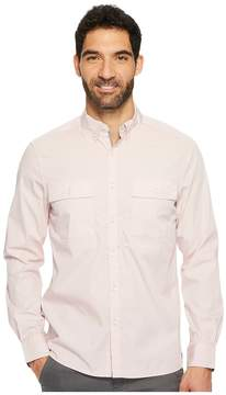 Kenneth Cole Sportswear Long Sleeve Solid Stretch Utility Men's Clothing