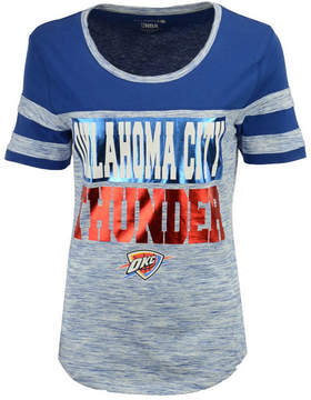 5th & Ocean Women's Oklahoma City Thunder Space Dye Foil T-Shirt
