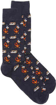 Hot Sox Men's Smores Dress Socks