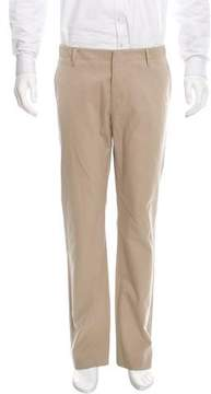 Gucci Web-Accented Flat Front Pants