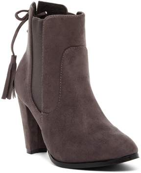 Catherine Malandrino Ellyse Lace-Up Back Bootie
