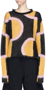 Aalto Abstract graphic motif sweater