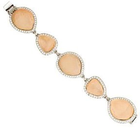 Isaac Mizrahi Crystal Resin Bracelet