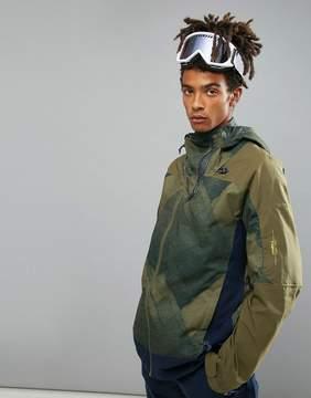 O'Neill Jeremy Jones Contour Ski Jacket in Green Print