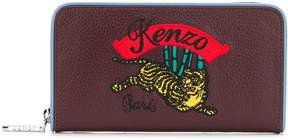 Kenzo Continental Wallet With Logo