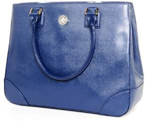 Tory Burch Robinson E/W Tote Expanded - BLUE - STYLE