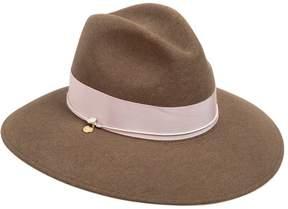 Federica Moretti Wide Brim Wool Felt Hat