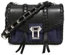 Proenza Schouler Hava Leather& Suede Chain Shoulder Bag