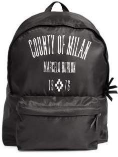 Marcelo Burlon County of Milan Nylon Backpack